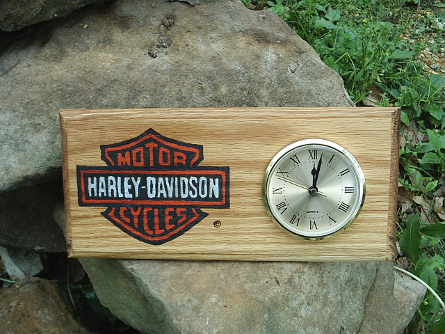 Harley Davidson Clock for my son
