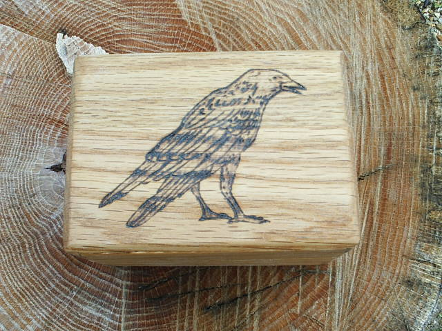 Raven Oak Trinket Box