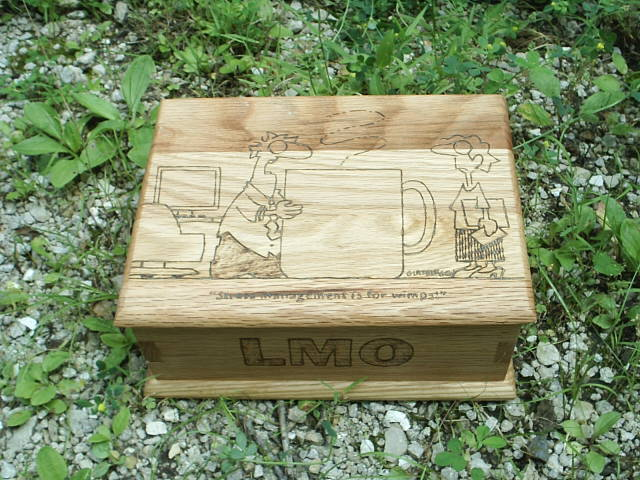 Custom Designed Oak Box