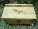 Animal Totem Shaman Naturalist Witches Altar with Drawer