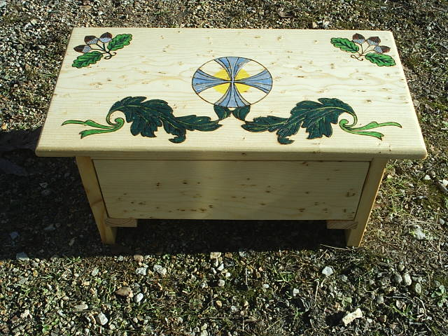 Includes Oak Leaves, Solar Cross, and Acorn designs