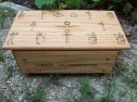 Ancient Egyptian Gods Pantheon Altar with Drawer
