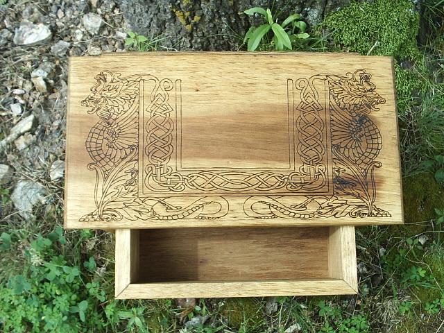 Large spacious drawer.