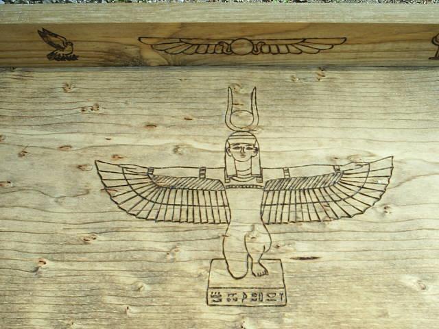 egyptian eagle symbol