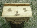 Norse Gods of Heathanism Asatru Altar with Drawer