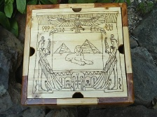 Ancient Egyptian Pyramid Scene Fantasy Box
