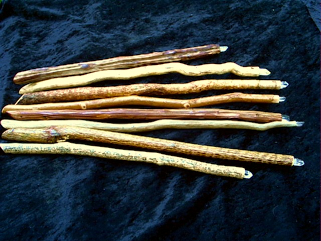 Magickally Crafted Witches Wands